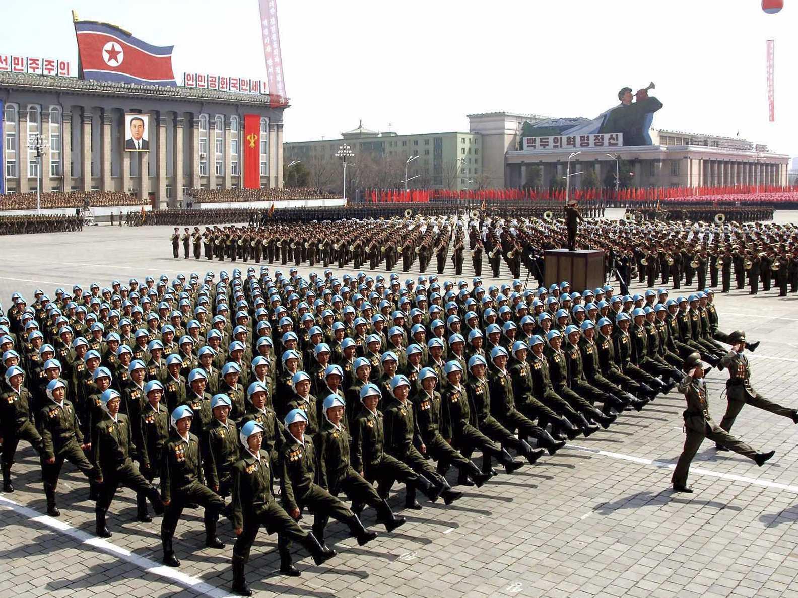 Corea del Norte prepara un gran desfile militar para los Juegos Olímpicos de invierno